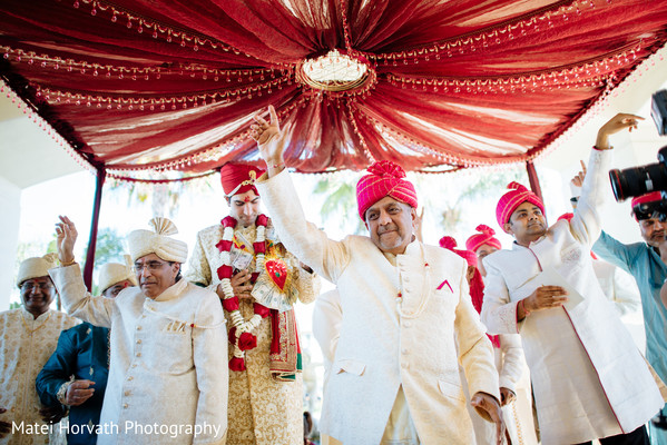 Hindu Ceremony in Huntington Beach, CA Indian Wedding by Matei Horvath Photography
