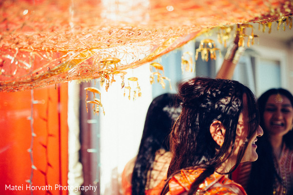 Pithi Celebration in Huntington Beach, CA Indian Wedding by Matei Horvath Photography
