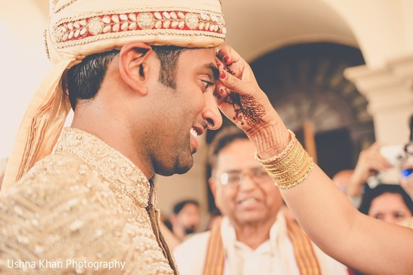Baraat in Austin, TX Indian Wedding by Ushna Khan Photography