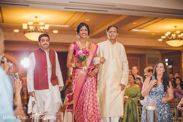 Ceremony in Austin, TX Indian Wedding by Ushna Khan Photography