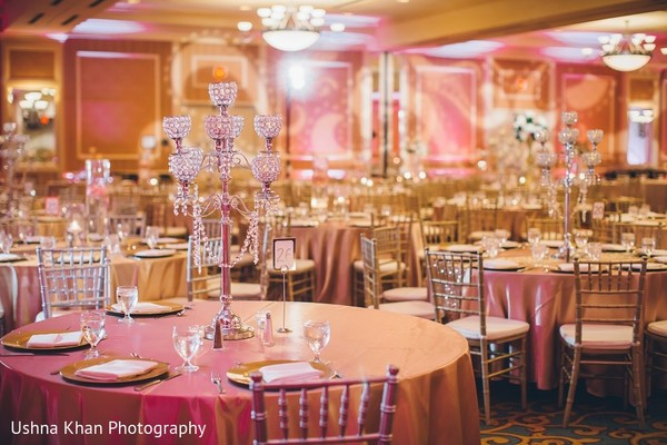 Floral & Decor in Austin, TX Indian Wedding by Ushna Khan Photography