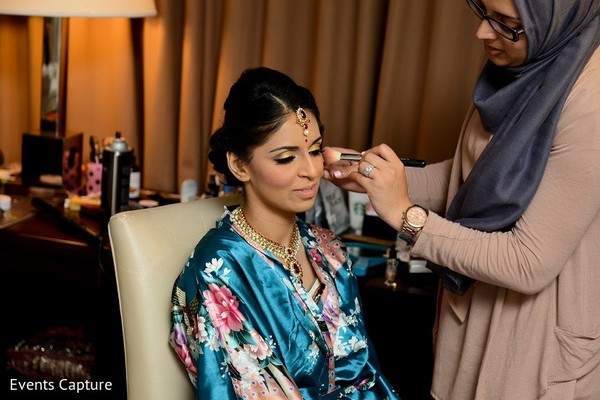 Getting Ready in Mahwah, NJ Indian Wedding by Events Capture