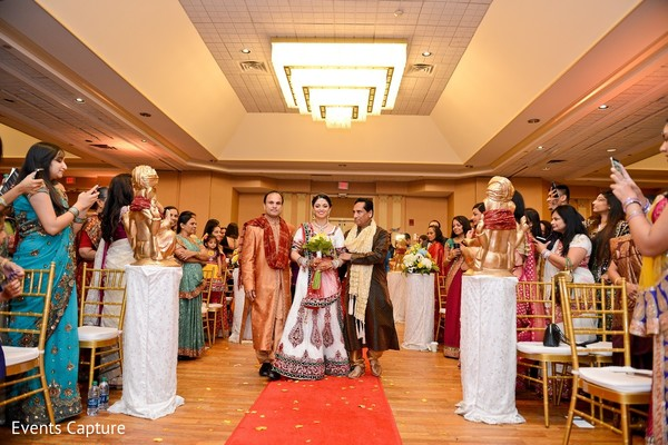 Ceremony in Mahwah, NJ Indian Wedding by Events Capture