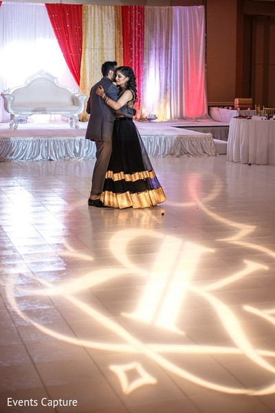 Reception Portrait in Mahwah, NJ Indian Wedding by Events Capture