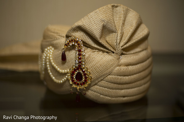 Pagri in Edison, NJ Indian Wedding by Ravi Changa Photography