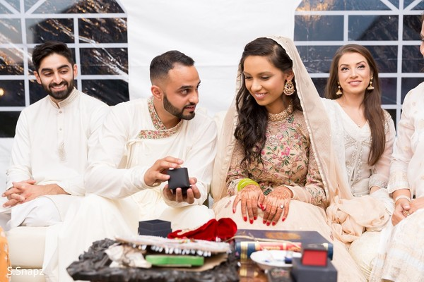 Ring Ceremony in North Haledon, NJ Pakistani Wedding by S.Snapz