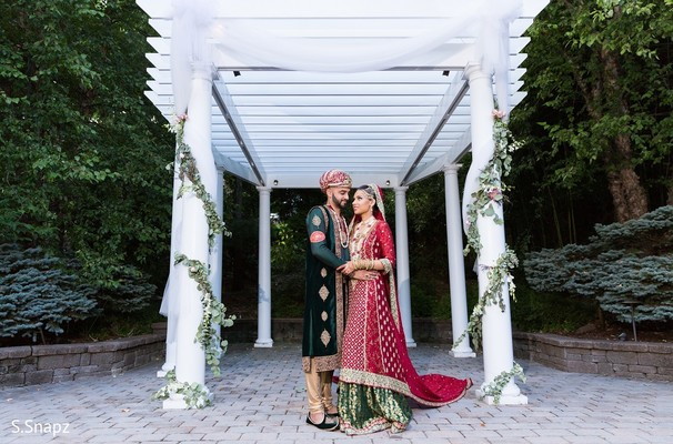Nikkah Portrait in North Haledon, NJ Pakistani Wedding by S.Snapz