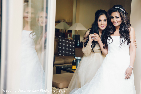 Bride Getting Ready in Pleasanton, CA Fusion Wedding by Wedding Documentary Photo + Cinema