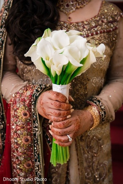 Bouquet in Iselin, NJ Pakistani Wedding by Dhoom Studio Photo & Video