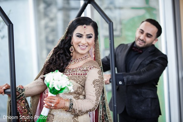 First Look in Iselin, NJ Pakistani Wedding by Dhoom Studio Photo & Video