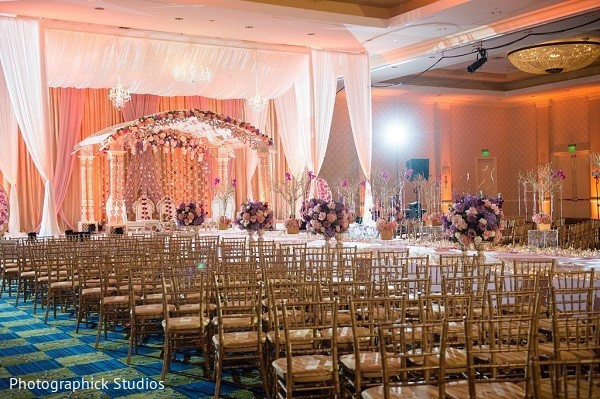 Ceremony Decor in Baltimore, MD Indian Wedding by Photographick Studios