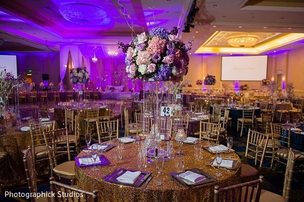 Floral & Decor in Baltimore, MD Indian Wedding by Photographick Studios