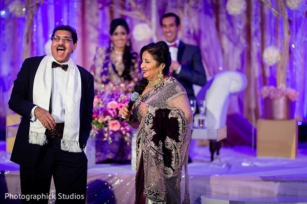 Reception in Baltimore, MD Indian Wedding by Photographick Studios