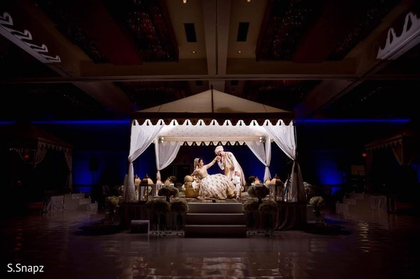 Walima Portrait in North Haledon, NJ Pakistani Wedding by S.Snapz
