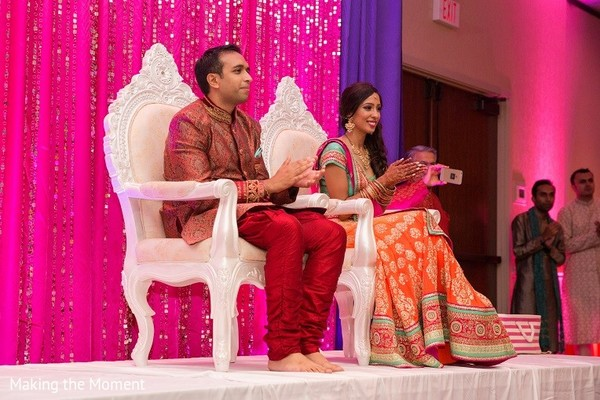 Sangeet in Grand Rapids, MI Indian Wedding by Making the Moment