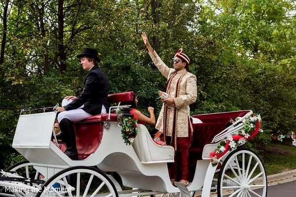 Baraat in Grand Rapids, MI Indian Wedding by Making the Moment