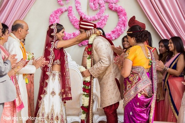 Ceremony in Grand Rapids, MI Indian Wedding by Making the Moment