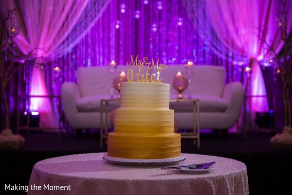 Wedding Cake in Grand Rapids, MI Indian Wedding by Making the Moment