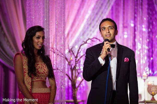 Reception in Grand Rapids, MI Indian Wedding by Making the Moment