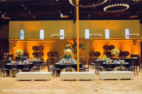 Sangeet Tablescape in Pleasanton, CA Fusion Wedding by Wedding Documentary Photo + Cinema