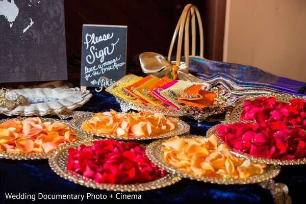 Sangeet Decor in Pleasanton, CA Fusion Wedding by Wedding Documentary Photo + Cinema