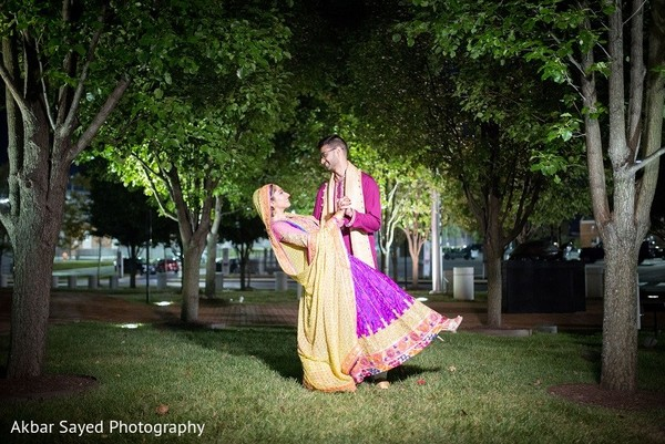 Mehndi Portrait in Washington, D.C. South Asian Wedding by Akbar Sayed Photography