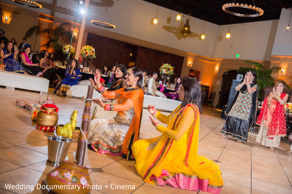 Sangeet in Pleasanton, CA Fusion Wedding by Wedding Documentary Photo + Cinema