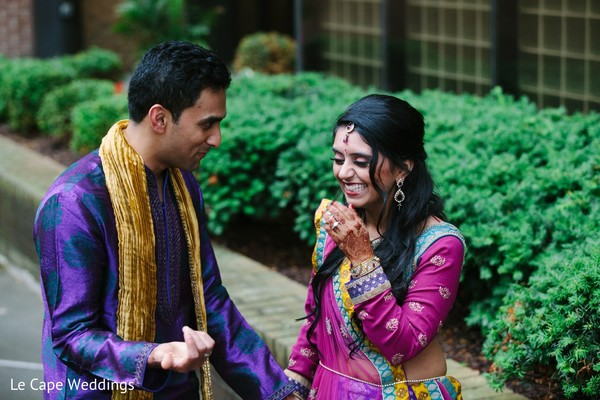 Pre-Wedding Portrait in Indianapolis, IN Indian Wedding by Le Cape Weddings