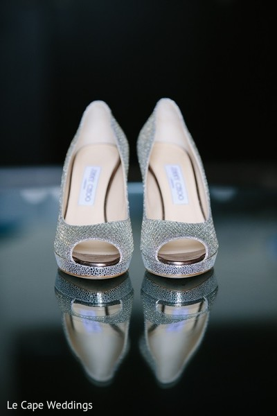 Shoes in Indianapolis, IN Indian Wedding by Le Cape Weddings