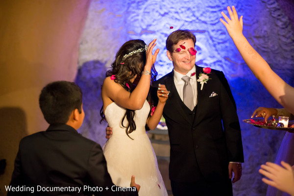 Wedding Reception in Pleasanton, CA Fusion Wedding by Wedding Documentary Photo + Cinema