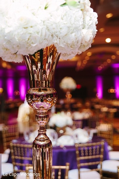 Floral & Decor in Indianapolis, IN Indian Wedding by Le Cape Weddings