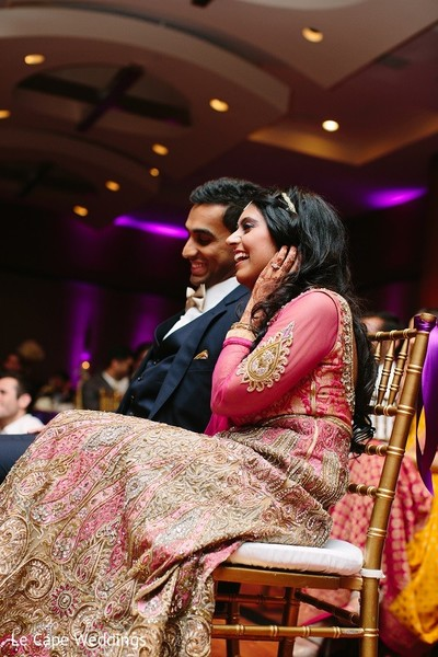 Reception in Indianapolis, IN Indian Wedding by Le Cape Weddings