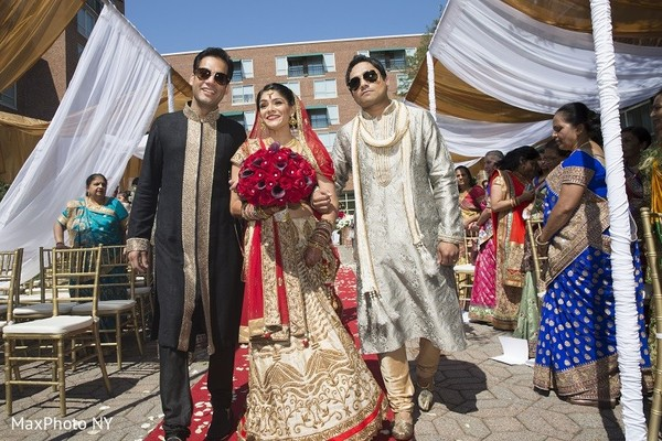 Ceremony in Princeton, NJ Indian Wedding by MaxPhoto NY