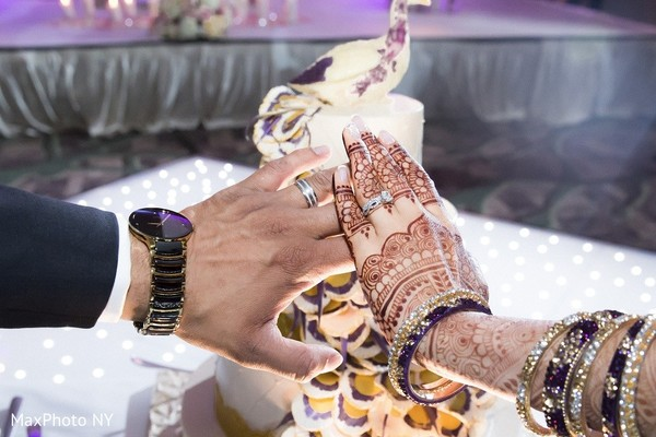 Reception in Princeton, NJ Indian Wedding by MaxPhoto NY