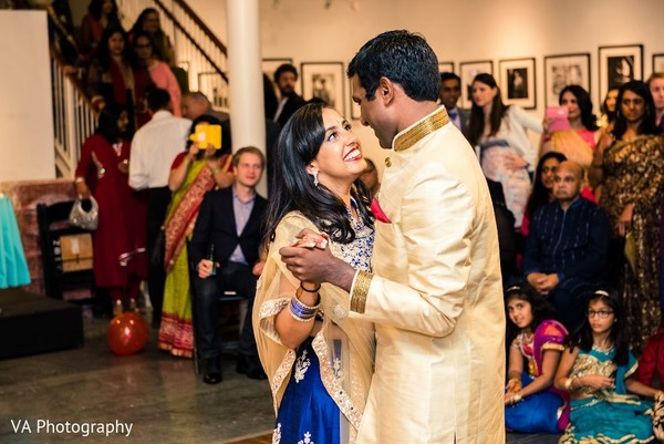 Sangeet in Carmel, CA Indian Wedding by VA Photography
