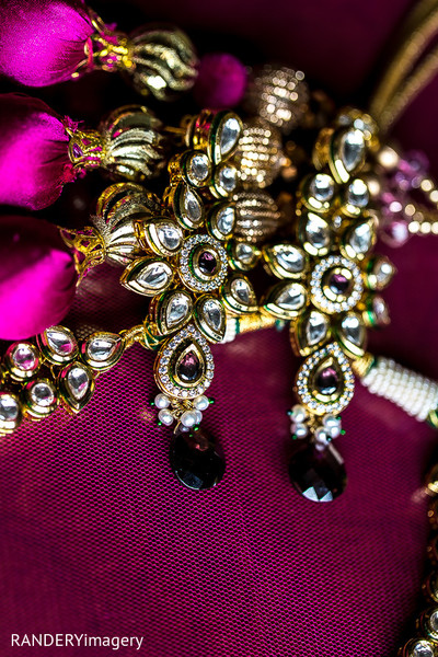 Bridal Jewelry in Costa Mesa, CA Indian Wedding by RANDERYimagery