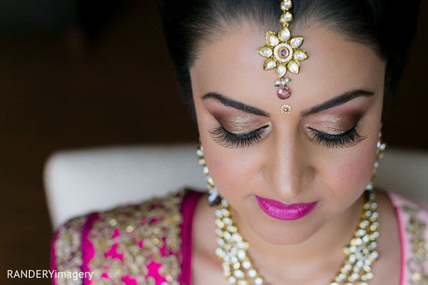 Makeup in Costa Mesa, CA Indian Wedding by RANDERYimagery