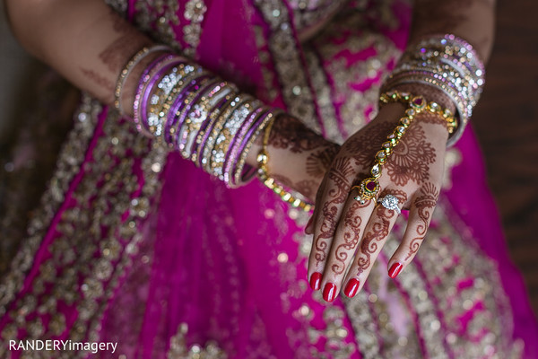 Getting Ready in Costa Mesa, CA Indian Wedding by RANDERYimagery