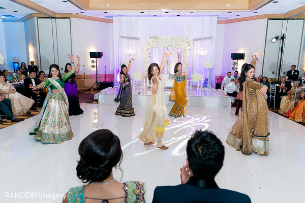 Reception in Costa Mesa, CA Indian Wedding by RANDERYimagery
