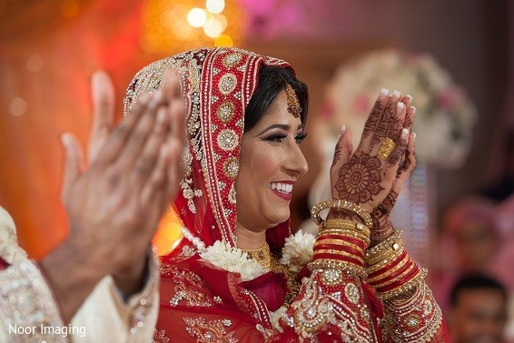 Nikah in Bethpage, NY South Asian Wedding by Noor Imaging