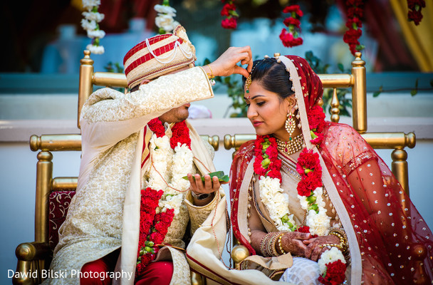 Hindu Wedding Ceremony in Camarillo, CA Indian Wedding by Dawid Bilski Photography