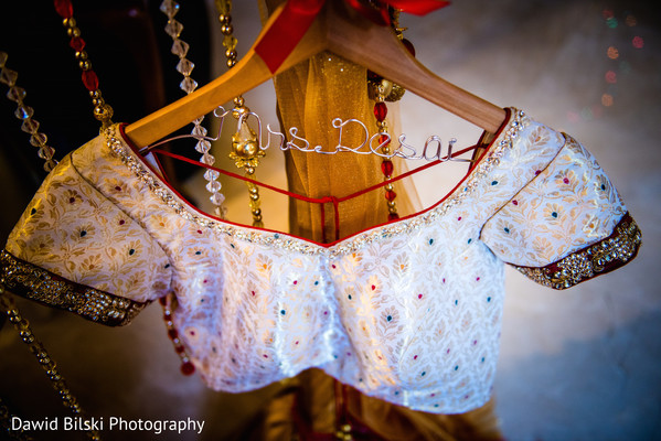 Bridal Choli in Camarillo, CA Indian Wedding by Dawid Bilski Photography