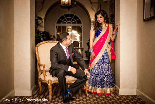 Reception Portraits in Camarillo, CA Indian Wedding by Dawid Bilski Photography