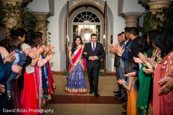 Reception in Camarillo, CA Indian Wedding by Dawid Bilski Photography