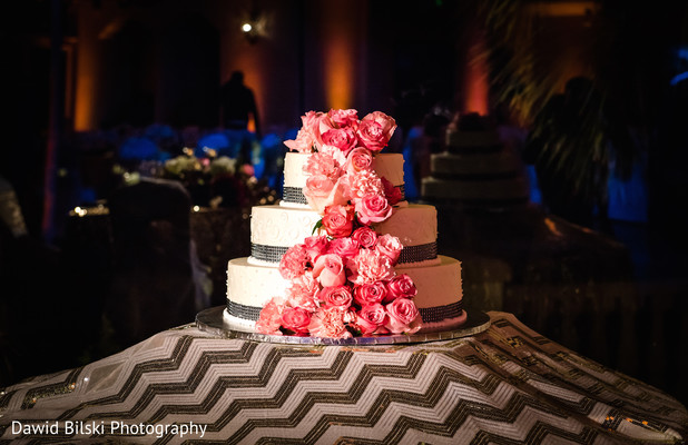 Wedding Cake in Camarillo, CA Indian Wedding by Dawid Bilski Photography