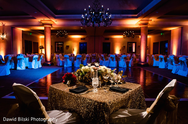 Sweetheart Table in Camarillo, CA Indian Wedding by Dawid Bilski Photography