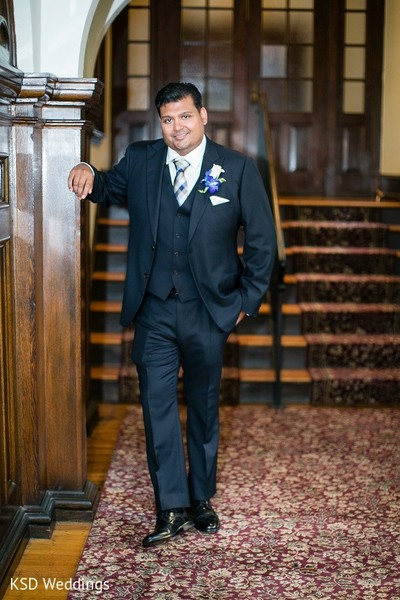 Groom Fashion in Collingswood, NJ Indian Wedding by KSD Weddings