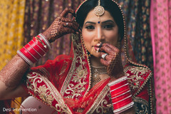Inspiration Photo Gallery Indian Weddings Bridal nose ring