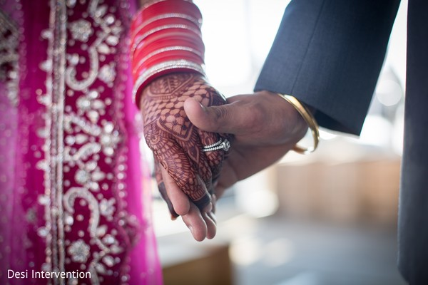 Wedding Rings in Sacramento CA Sikh Wedding by Desi Intervention