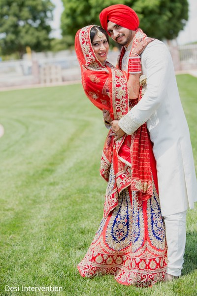 Wedding Portraits in Sacramento, CA Sikh Wedding by Desi Intervention